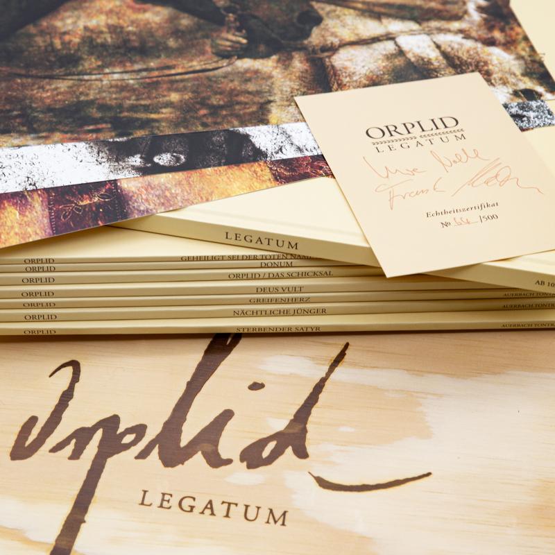 Orplid - Legatum Box     Black