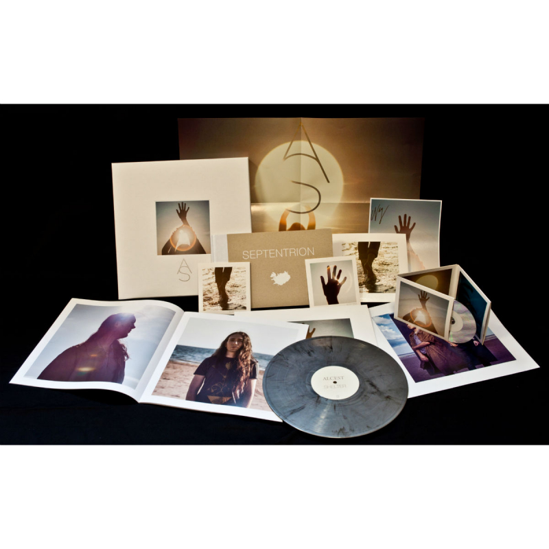 Alcest - Shelter Complete Box  |  silver-black marble