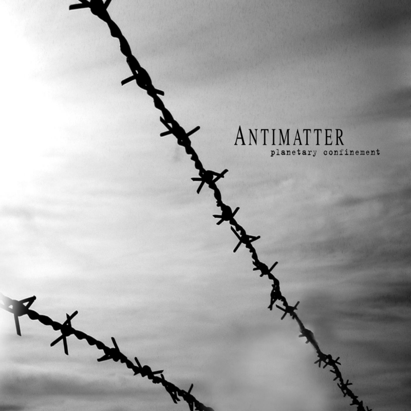 Antimatter - Planetary Confinement Vinyl Gatefold LP     Black