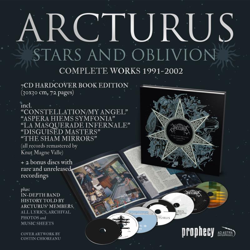 Arcturus - Stars And Oblivion Artbook 7-CD