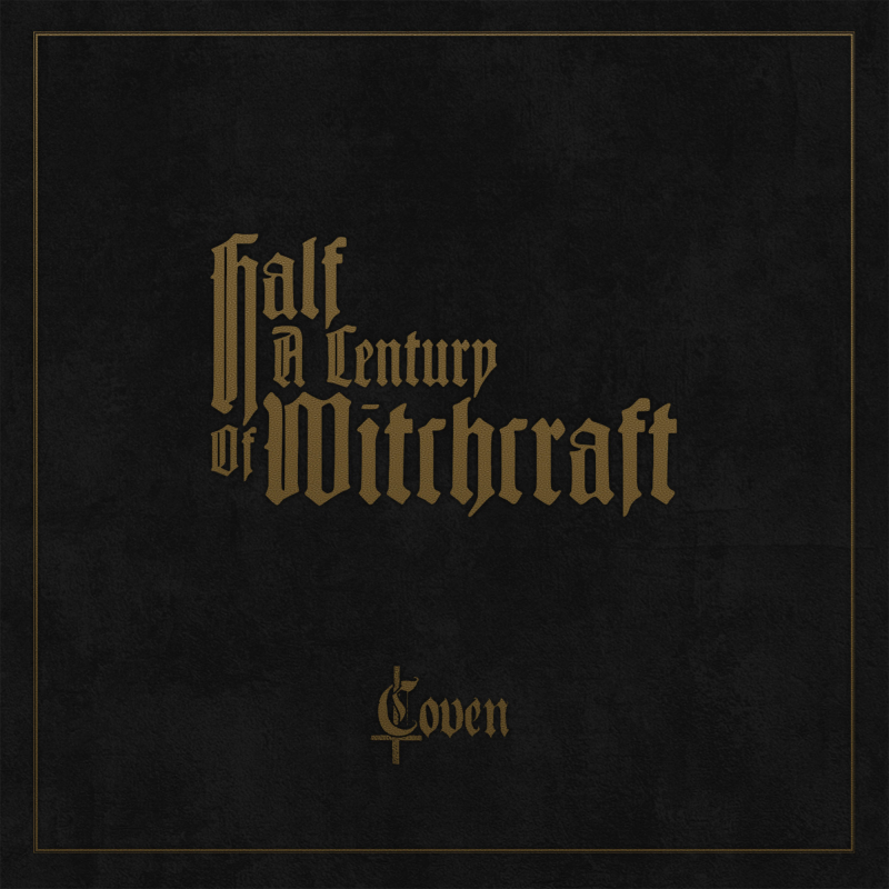 Coven - Half A Century Of Witchcraft Artbook 5-CD