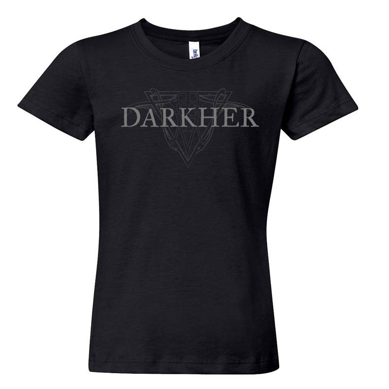 Darkher - Logo T-Shirt  |  M  |  black