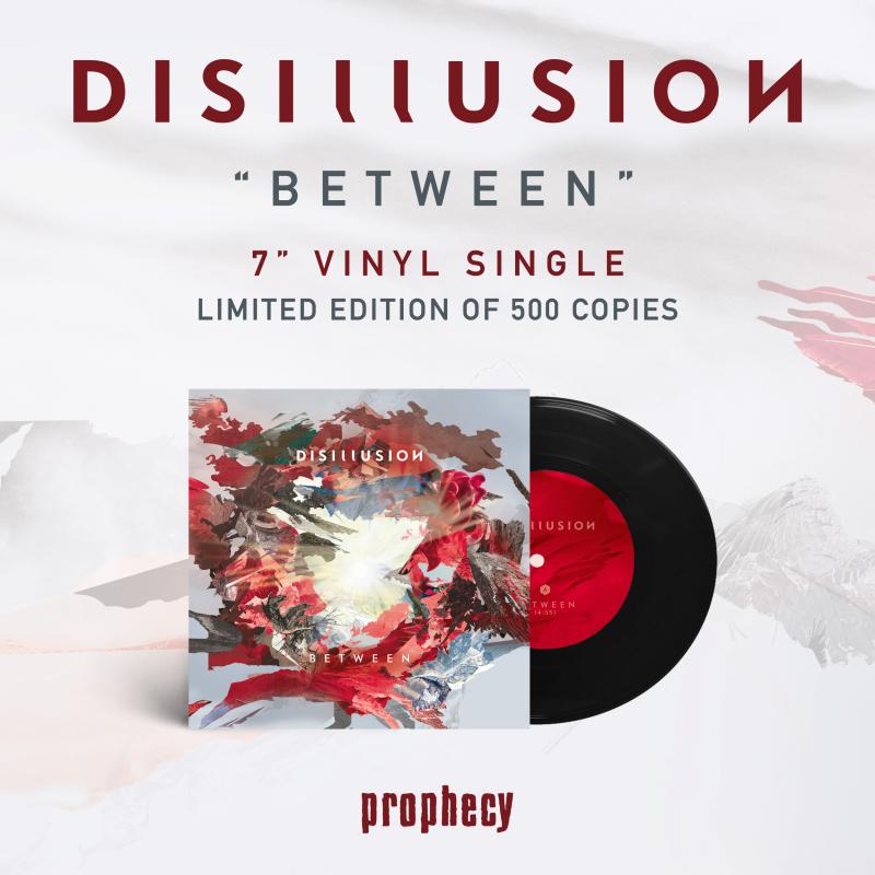 "Disillusion - Between Vinyl 7""  |  Black"