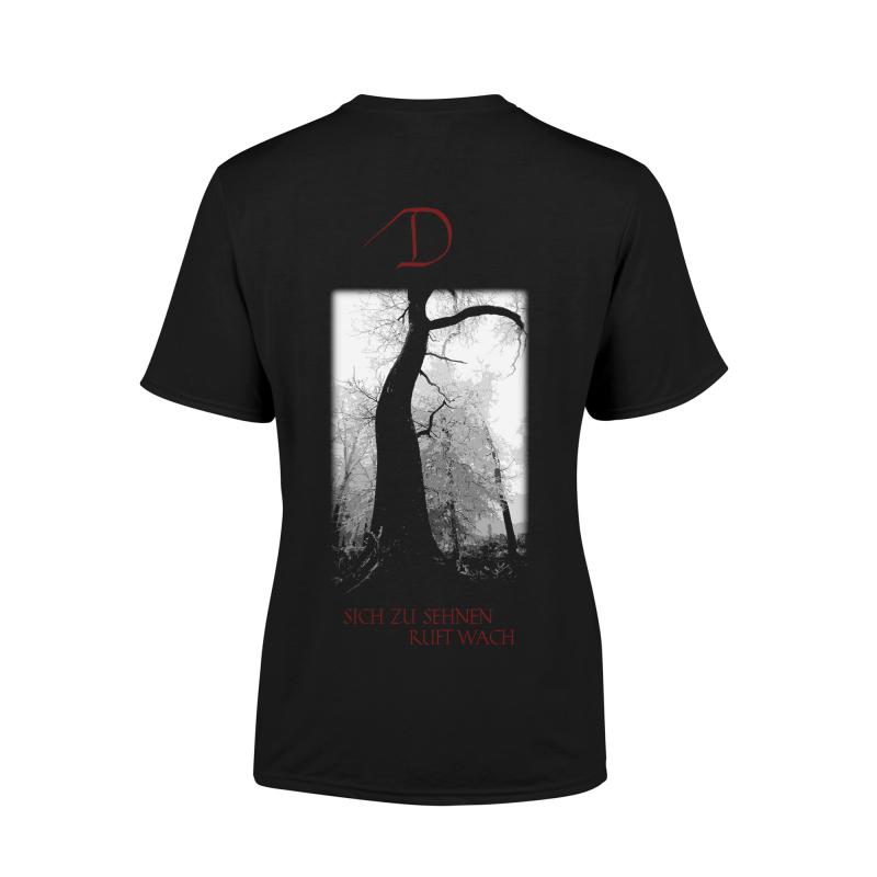 Dornenreich - Du wilde Liebe sei Girlie-Shirt     M     black
