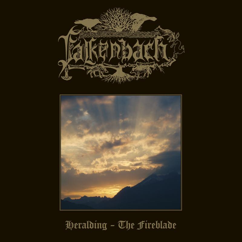 Falkenbach - Heralding - The Fireblade Vinyl Gatefold LP     Sun Yellow