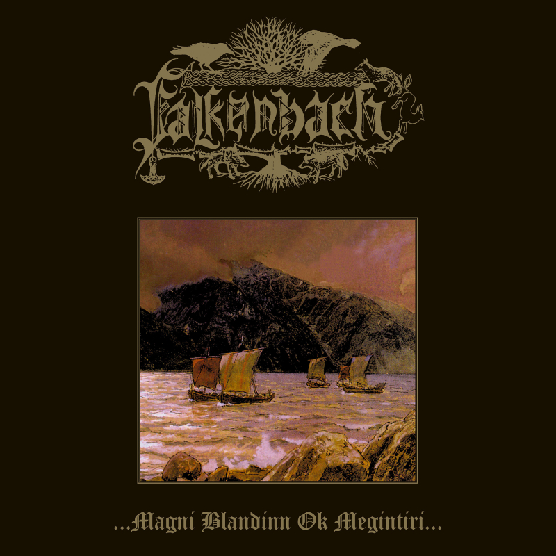 Falkenbach - ...magni blandinn ok megintíri... Vinyl Gatefold LP  |  Brick Red