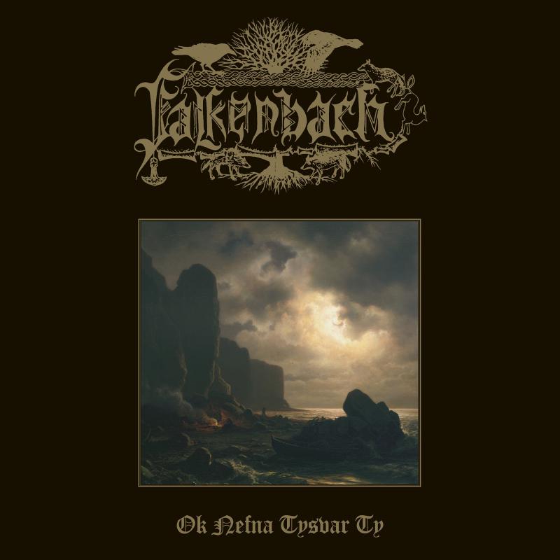 Falkenbach - Ok nefna tysvar Ty Vinyl Gatefold LP     Brown