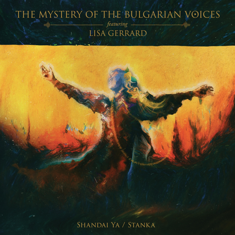 The Mystery Of The Bulgarian Voices feat. Lisa Gerrard - Shandai Ya / Stanka Vinyl LP     Black
