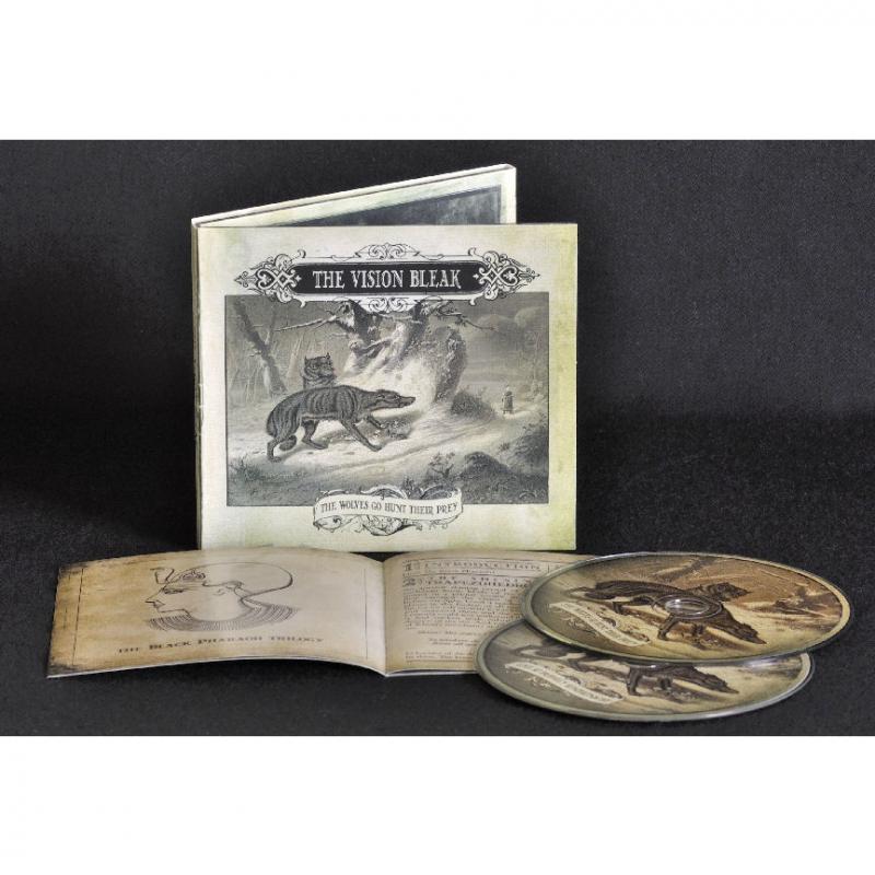 The Vision Bleak - The Wolves Go Hunt Their Prey CD-2 Digipak
