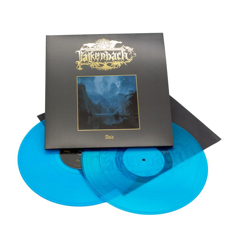 Falkenbach - Asa Vinyl 2-LP Gatefold     Turquoise