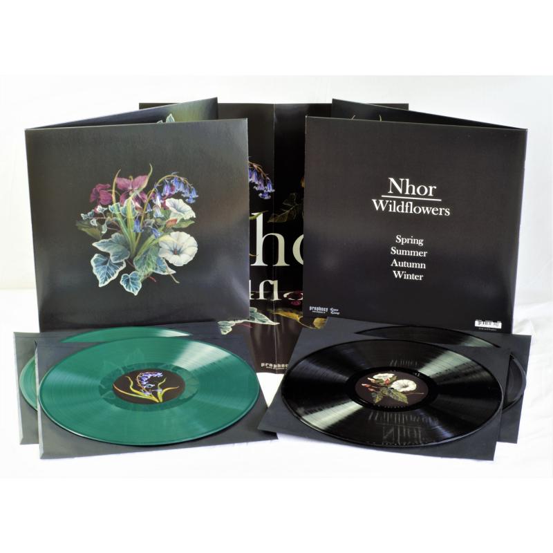 Nhor - Wildflowers Vinyl 2-LP Gatefold     Black
