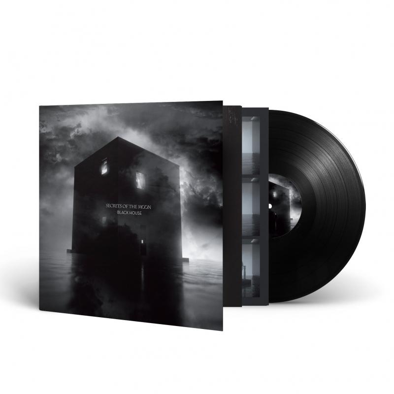 Secrets Of The Moon - Black House Vinyl Gatefold LP  |  Black