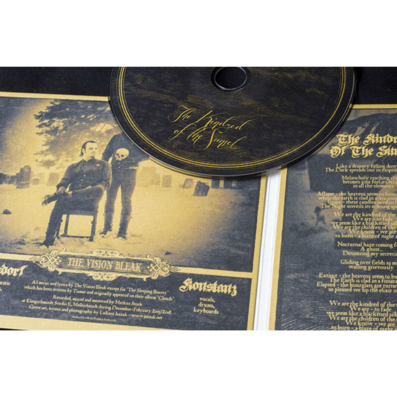 The Vision Bleak - The Kindred Of The Sunset CD Single
