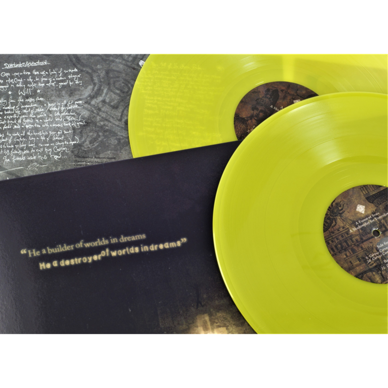 A Forest Of Stars - A Shadowplay For Yesterdays Vinyl 2-LP Gatefold     yellow