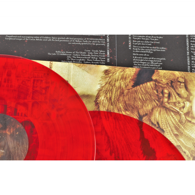 A Forest of Stars - Beware The Sword You Cannot See Vinyl 2-LP Gatefold  |  red