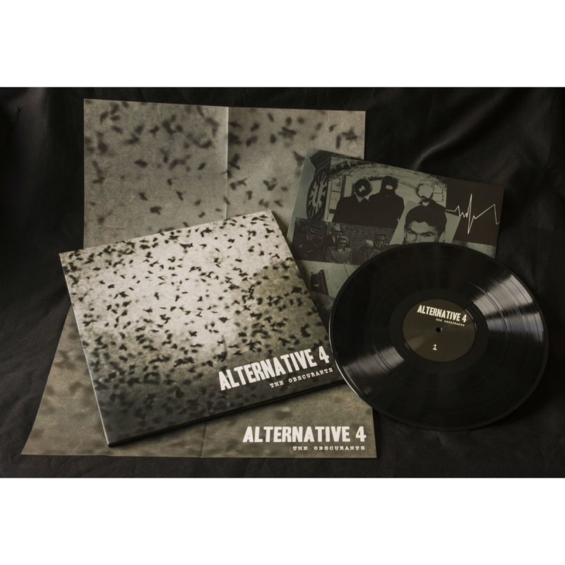 Alternative 4 - The Obscurants Vinyl Gatefold LP     black
