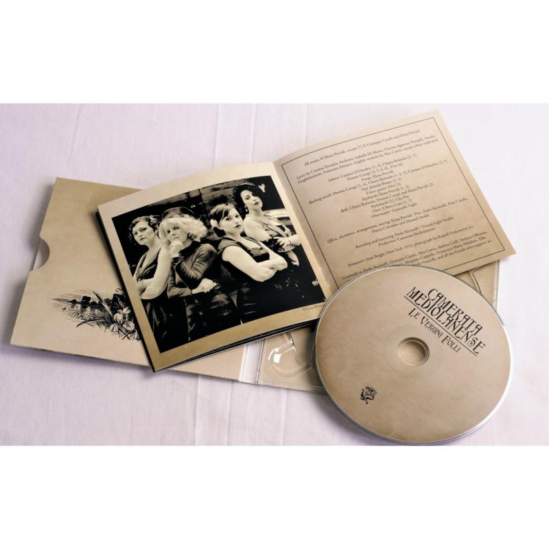 Camerata Mediolanense - Le Vergini Folli CD Digipak