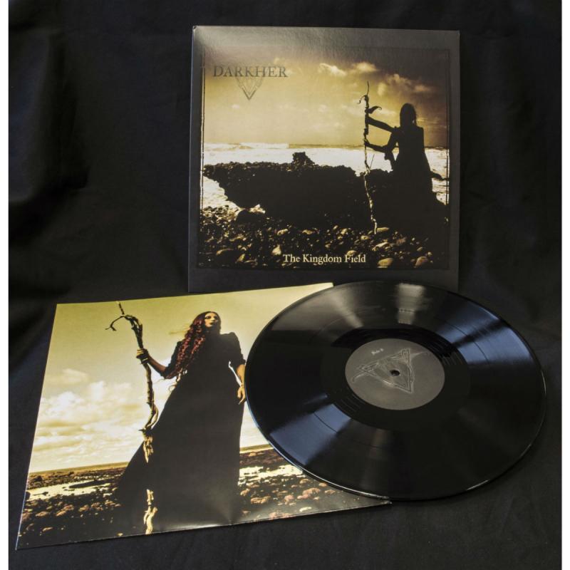 "Darkher - The Kingdom Field Vinyl 12"" EP  |  black"