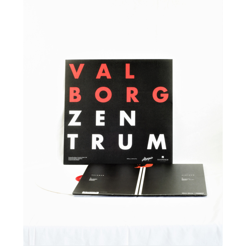 Valborg - Zentrum Vinyl LP     White