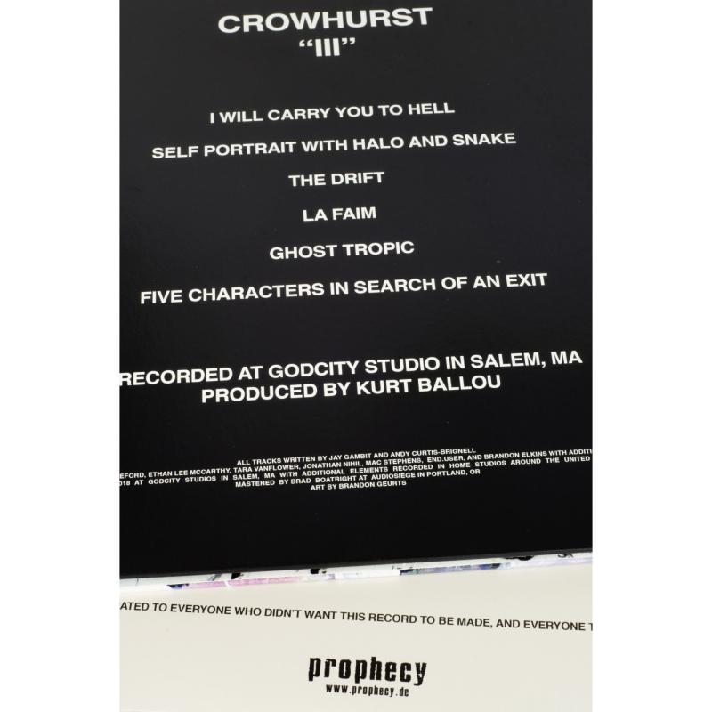 Crowhurst - III Vinyl Gatefold LP     Black