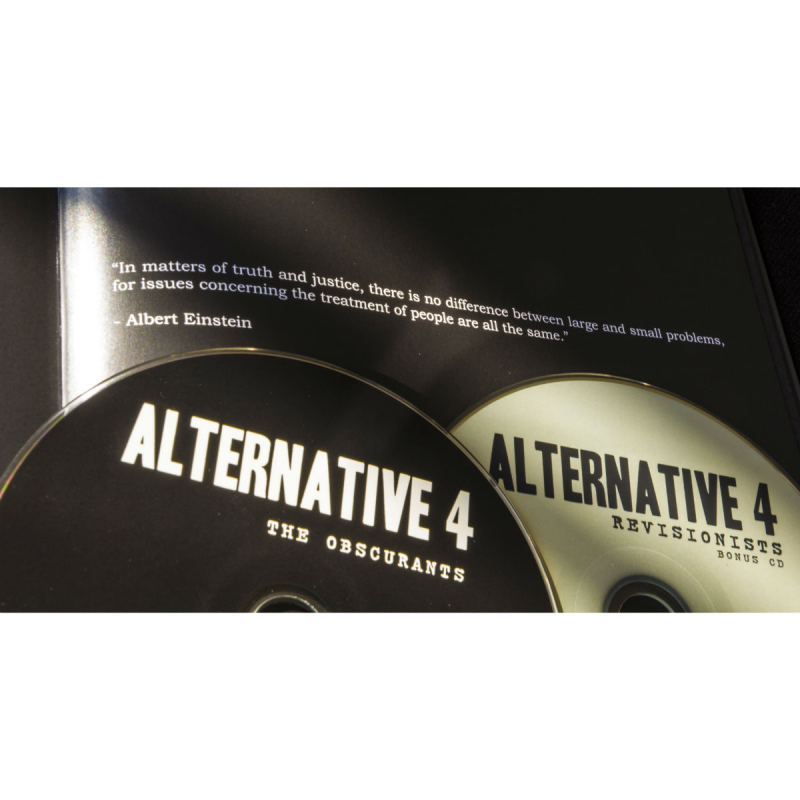 Alternative 4 - The Obscurants Book 2-CD