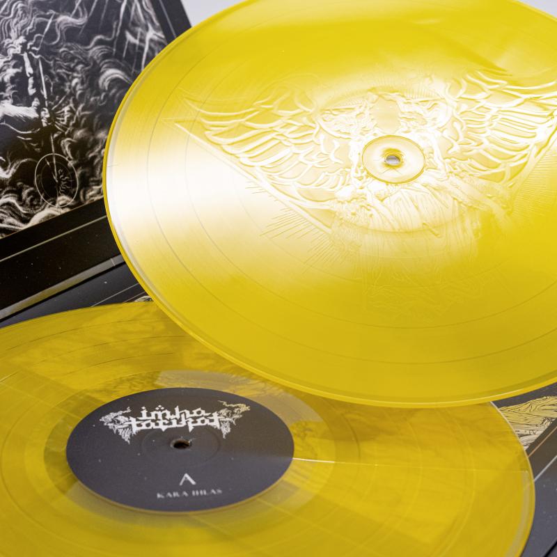 Imha Tarikat - Kara Ihlas / Kenoboros Vinyl 2-LP Gatefold  |  Sun Yellow Transparent