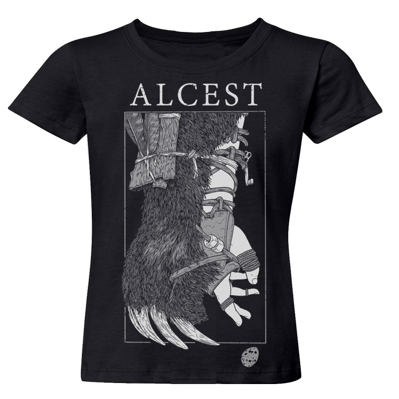 Alcest - Oiseaux De Proie Girlie-Shirt  |  M  |  black