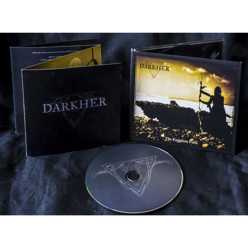Darkher - The Kingdom Field CD Digipak