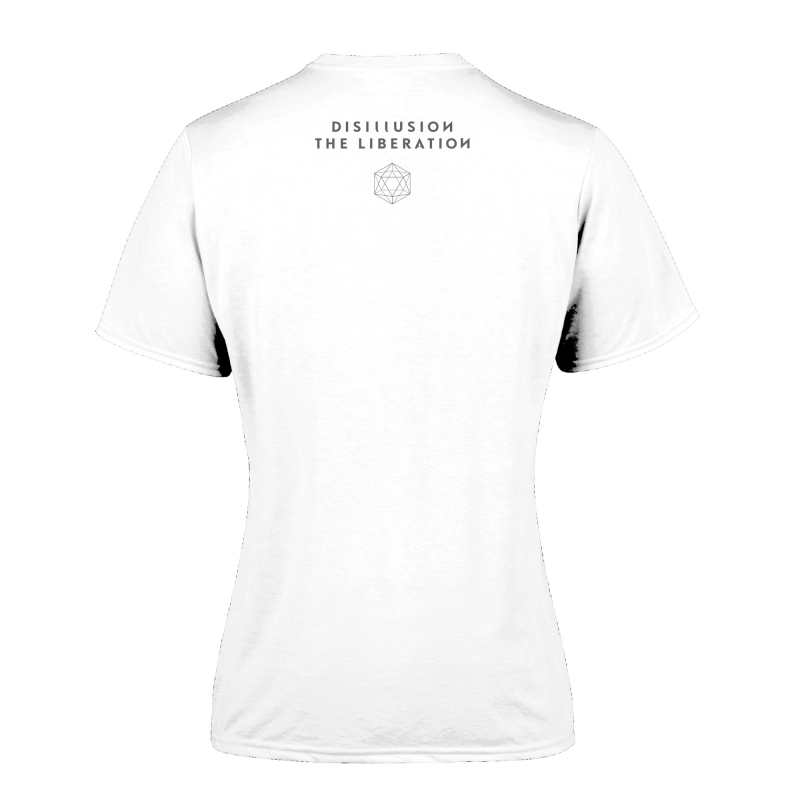 Disillusion - The Liberation Girlie-Shirt  |  L  |  White