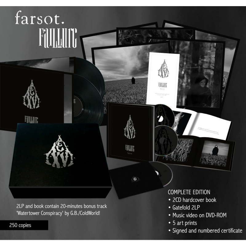 Farsot - FAIL·LURE Complete Box  |  black