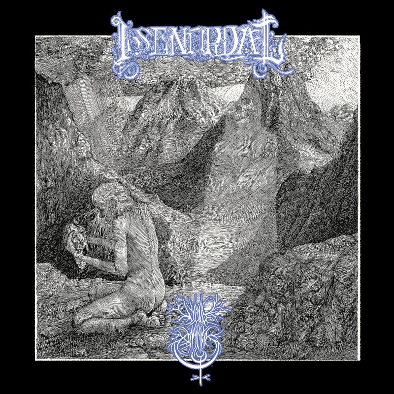 Isenordal - Split with Void Omnia Vinyl LP     White