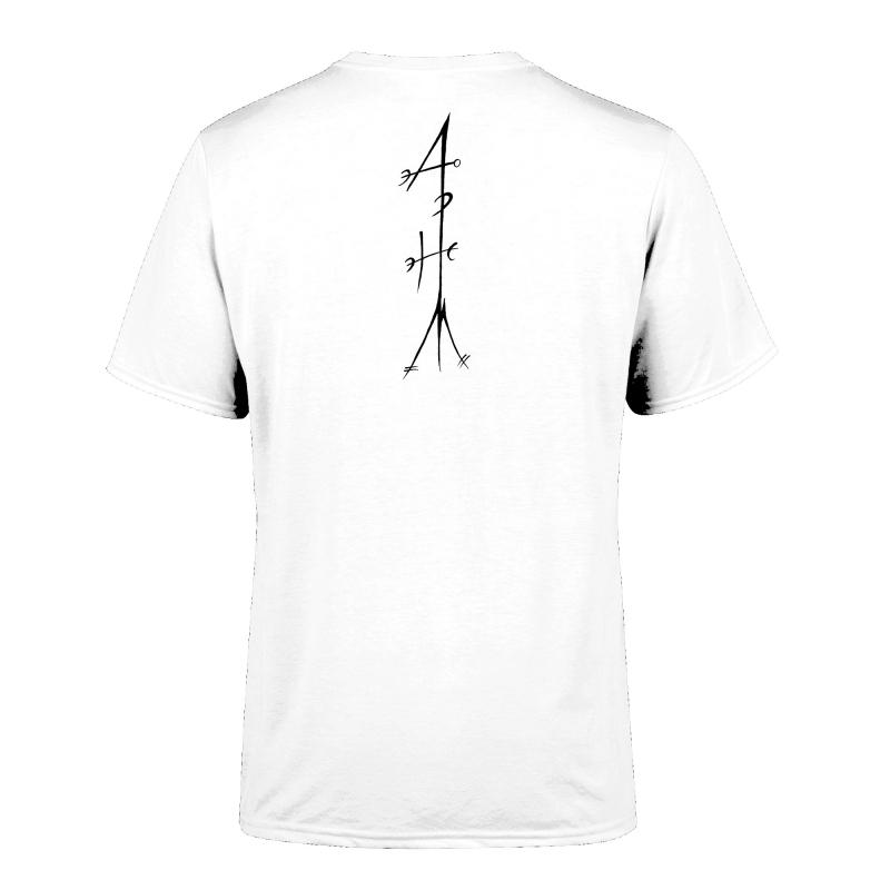 Katla - Allt þetta Helvítis Myrkur T-Shirt  |  L  |  white