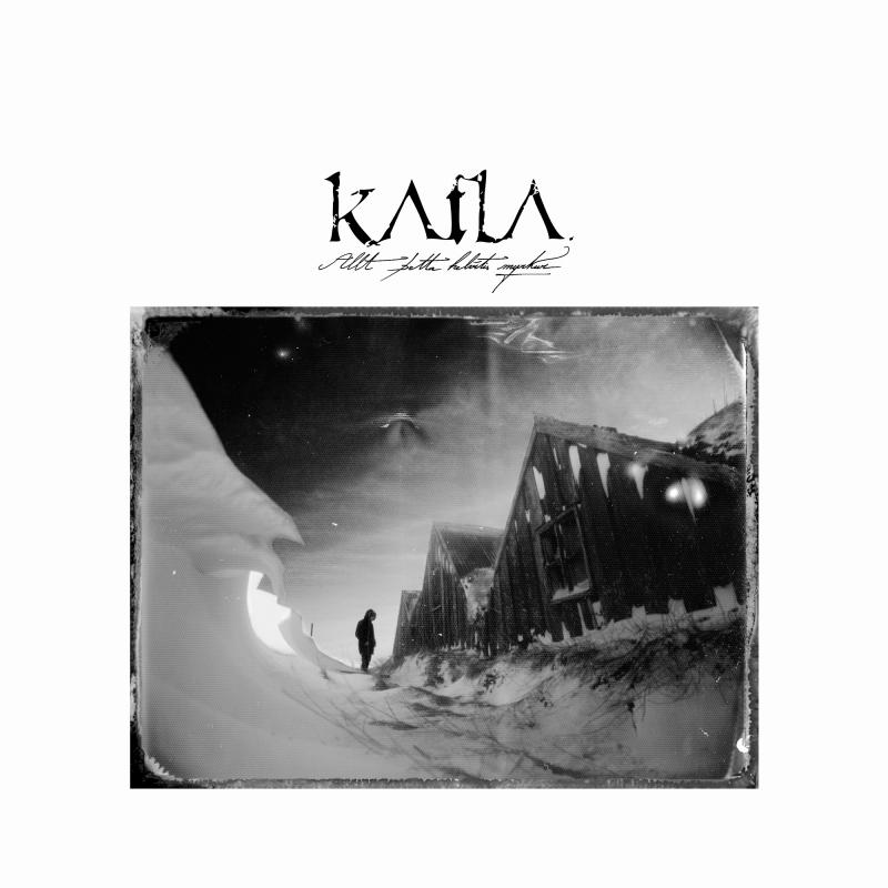 Katla - Allt þetta Helvítis Myrkur Vinyl 2-LP Gatefold  |  Black