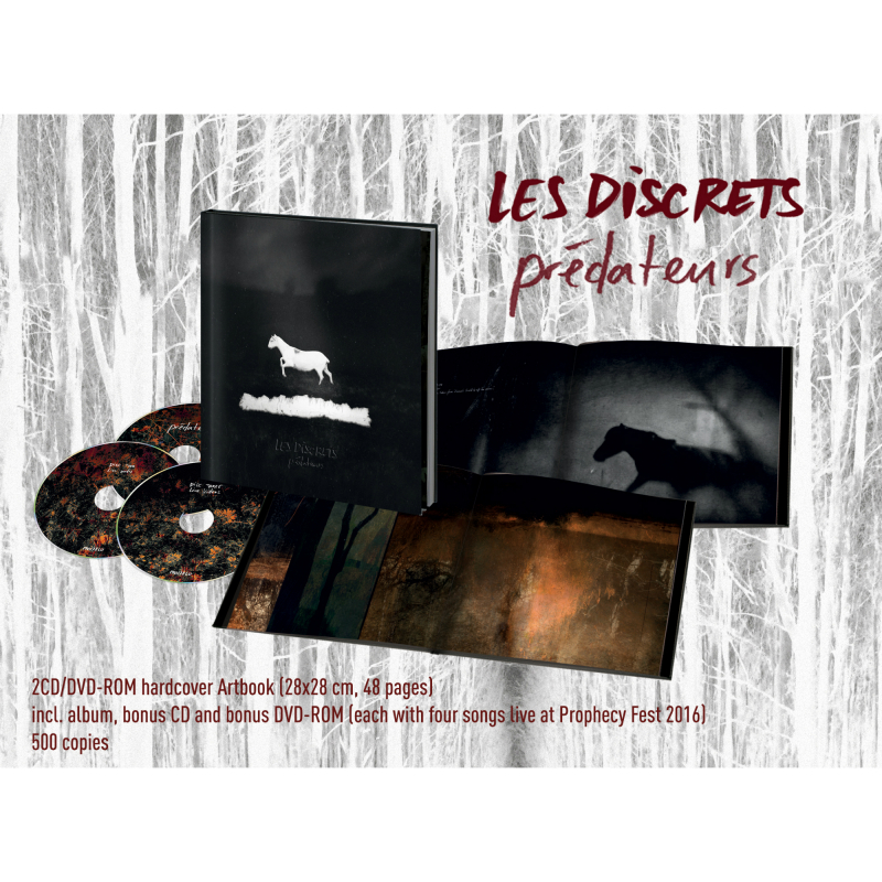 Les Discrets - Prédateurs Artbook 2CD+DVD-ROM