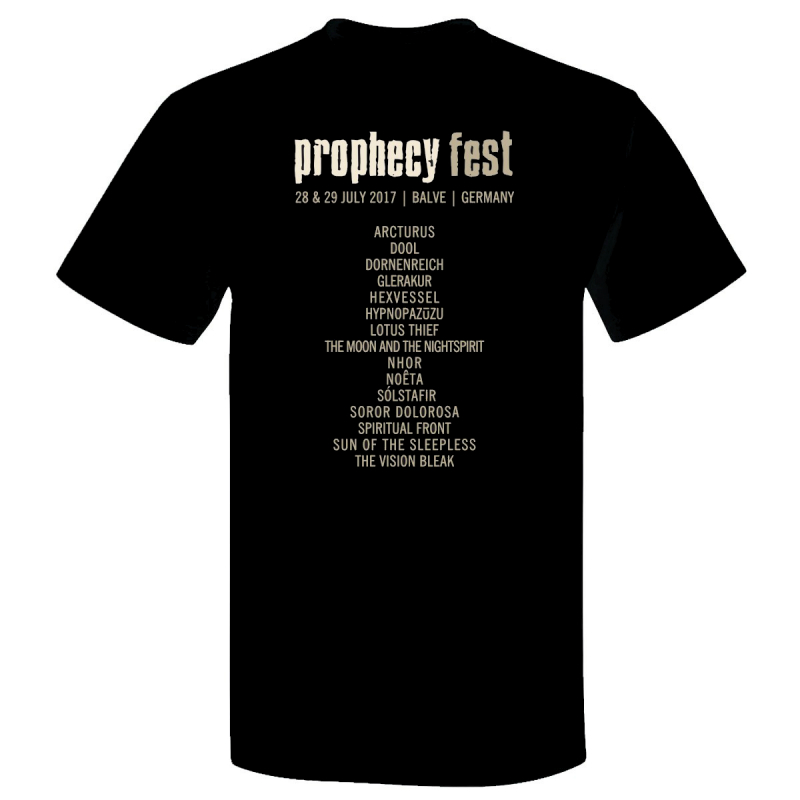 Prophecy - Prophecy Fest 2017 Girlie-Shirt  |  L