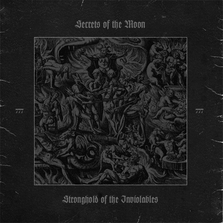 Secrets Of The Moon - Stronghold Of The Inviolables Vinyl Gatefold LP  |  black