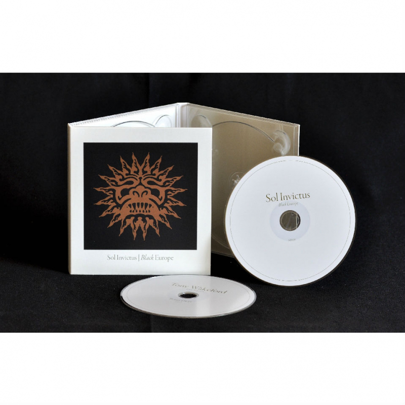 Sol Invictus - Black Europe CD+DVD Digipak