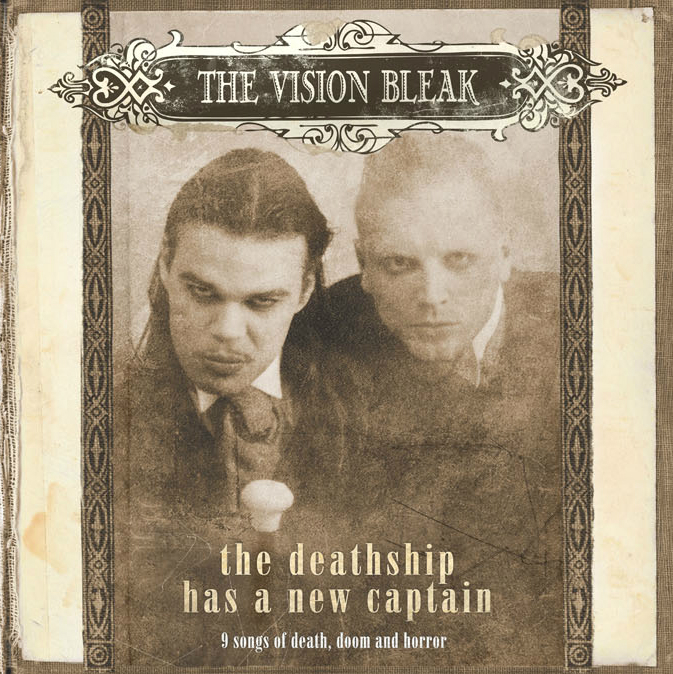The Vision Bleak - The Deathship Has A New Captain Book 2-CD