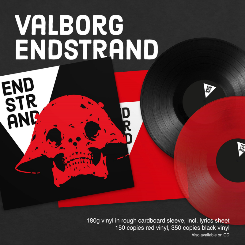 Valborg - Endstrand Vinyl LP
