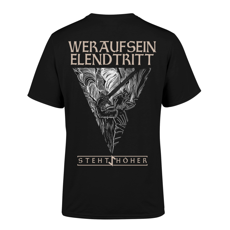 Vrimuot - Elend T-Shirt  |  XL  |  Black