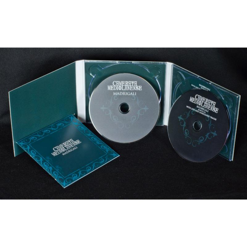 Camerata Mediolanense - Madrigali CD-2 Digipak