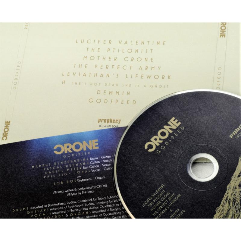 Crone - Godspeed CD Digisleeve