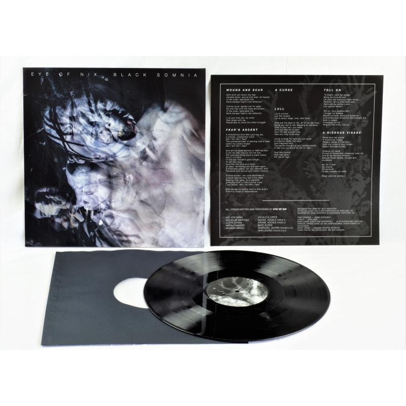Eye Of Nix - Black Somnia Vinyl LP  |  Black
