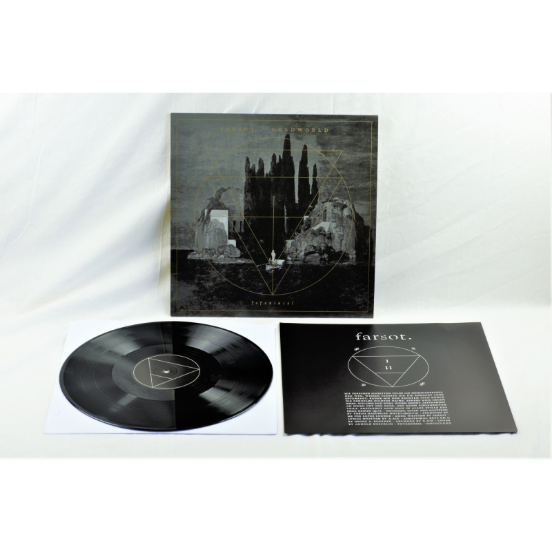 "Farsot - Toteninsel (Farsot / Coldworld) Vinyl 12"" EP  