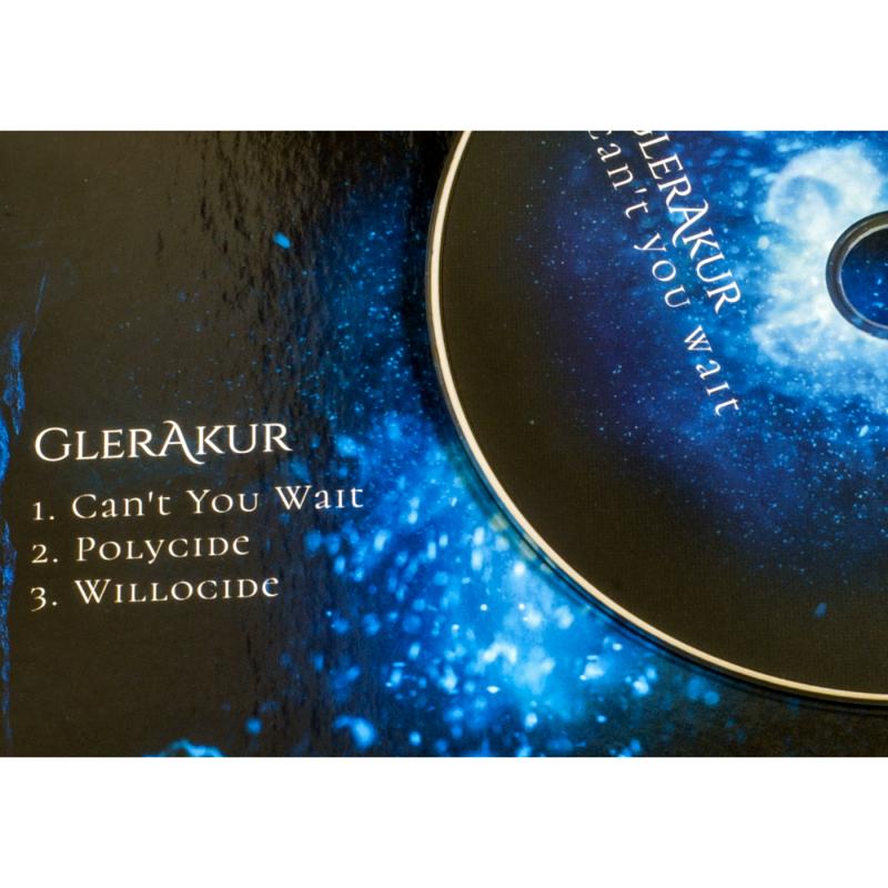 "GlerAkur - Can't You Wait Vinyl 12"" EP     black"