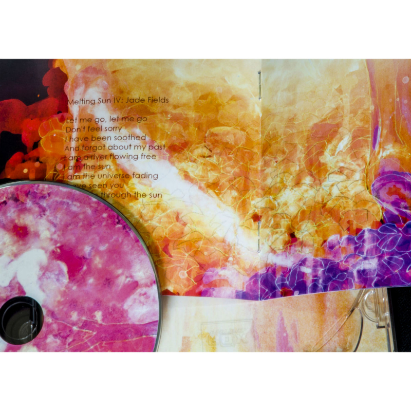 Lantlôs - Melting Sun Artbook CD+DVD