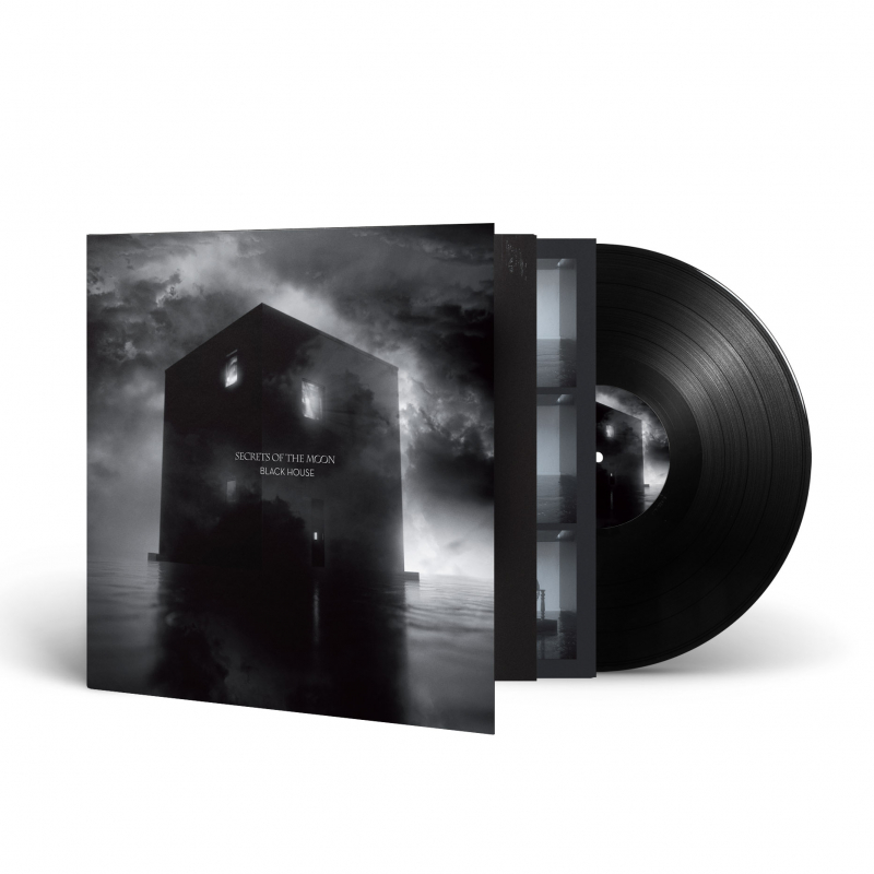 Secrets Of The Moon - Black House Vinyl Gatefold LP  |  Black