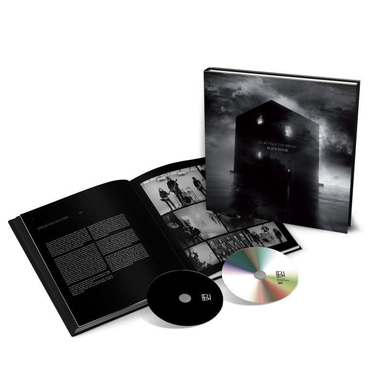 Secrets Of The Moon - Black House Artbook CD+DVD