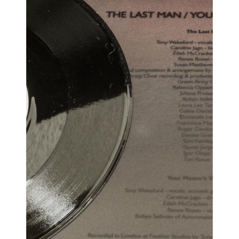 """Sol Invictus - The Last Man Vinyl 7""""     black"""
