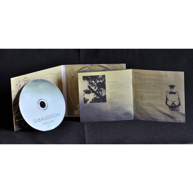 Subaudition - The Scope CD Digipak